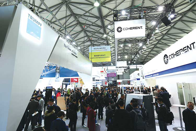 Laser World of Photonics China 2018 returns to Shanghai in March